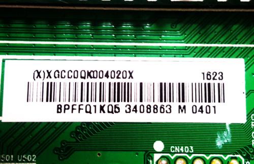 Sharp LC-50LB481U Main board 715G7228-M01-001-004Y / 756TXGCC0QK004
