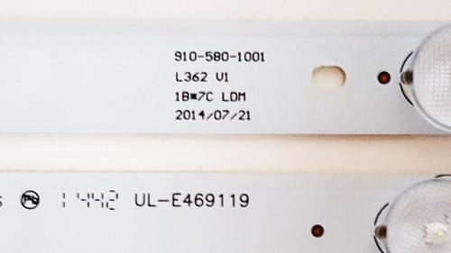 Element ELEFW581 LED Light Strips Complete set of 14 910-580-1001