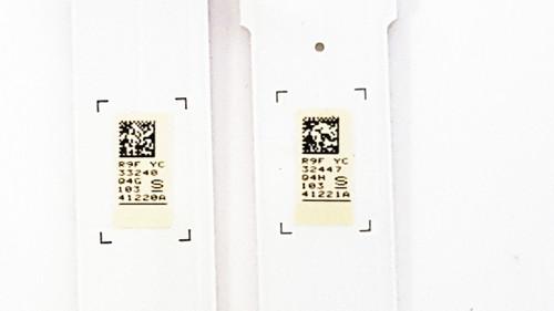 Samsung UN43MU6300 LED Light Strips Complete set of 8 BN96-41220A & BN96-41221A