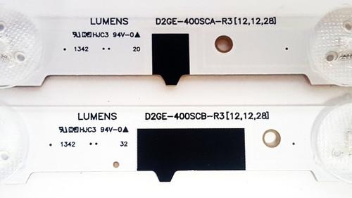 Samsung UN40F5000AF LED Light Strips Complete set of 14 BN96-25304A & BN96-25305A
