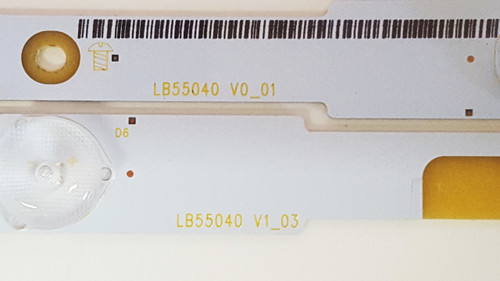 LG / Insignia LB55040 LB55043 V0_01 V1_03 LED Backlight Strips (14)