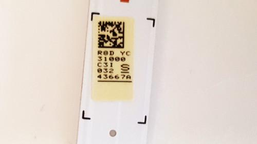 Samsung UN32M5300 LED Light Strips set of 2 BN96-43667A / 170131