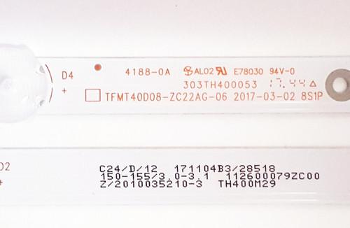 Element ELEFW4017BF  LED Light Strips Complete set of 3 303TH400053 / TFMT40D08-ZC22AG-06