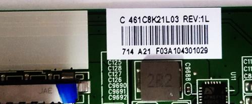 Toshiba 49L621U Main board SBB55T VTV-L55730 / 431C8K21L03 / 461C8K21L03