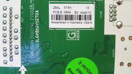 Sanyo DP50E84 Main board 1LG4B10Y1270A / Z8AL