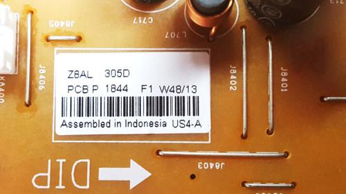 Sanyo DP50E84 Power Supply board 1LG4B10Y13100 / Z8AL