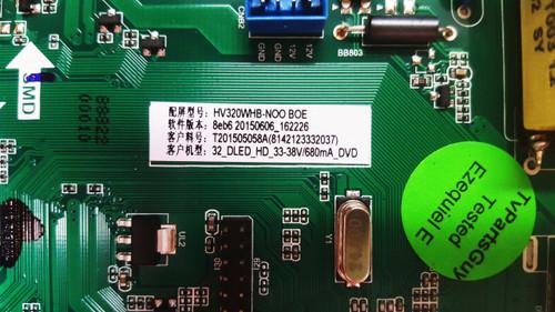 oCOSMO CE3230V-BWMV93CB Main board / Power Supply board TP.MS3393.P712 / T201505058A / H15061160