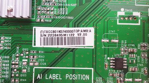 Insignia NS-32E321A13 Main board 715G5451-M01-000-004X / CBPFTXCCB01K074