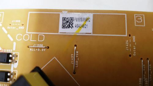 Sanyo FW50D36F Power Supply board BA6AU4F0102 1 / A6AU4021  / A6AU4MPW Chipped corner