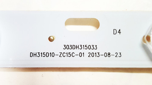Sceptre X322BV-HD LED Light Strips set of 2 303DH315033 / DH315D10-ZC15C-01