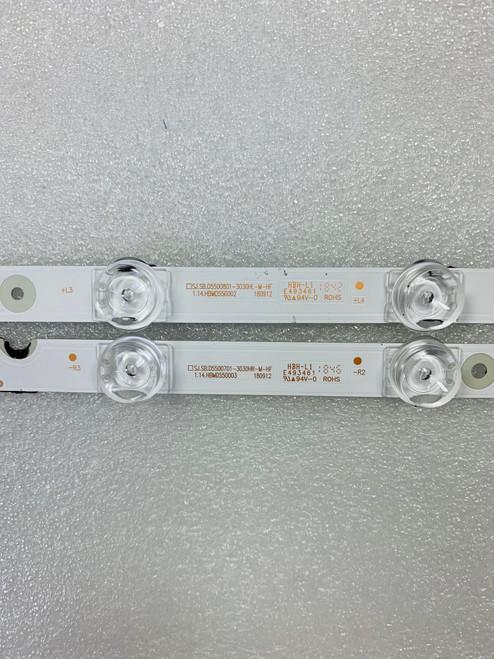 TCL 55S421 LED Light Strips Complete set of 4 SJ.SB.D5500801-303H