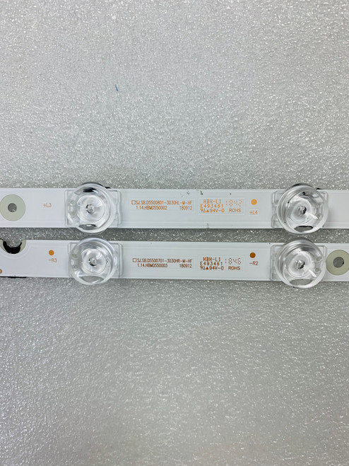 TCL 55S421 LED Light Strips Complete set of 4 SJ.SB.D5500801-303H