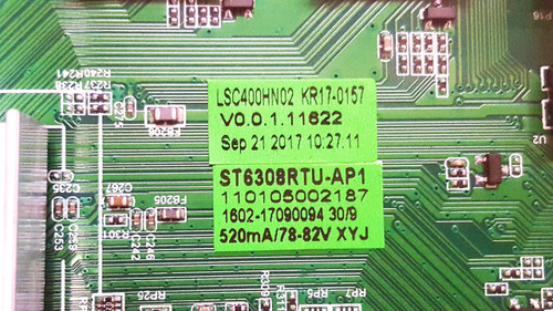 Element E2SW3918 Main board ST6308RTU-AP1 / E17234