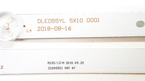 Element E4SW5518 J8G1H LED Light Strips Complete set of 5 DLED55YL