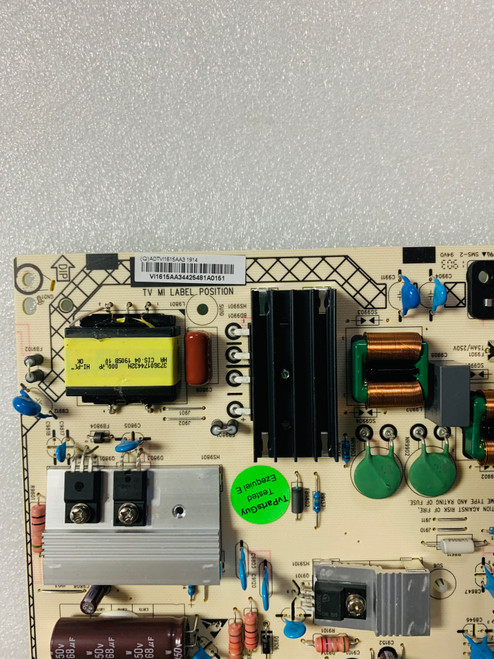 NEC E507Q Power Supply board 715G9384-P01-002-0H3S / ADTVI1615AA3