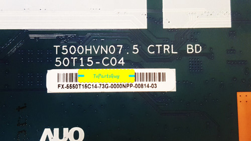 Westinghouse WD50FB2530 Tcon board T500HVN07.5 / 5550T15C14