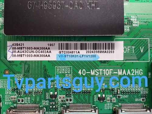 TCL 43S421 Main board & WIFI Module 40-MST10F-MAA2HG / V8-ST10K01-LF1V1286 & 07-RT8812-MA2G