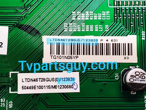 Insignia NS-46E560A11 Main board RSAG7.820.2010/ROH / 123839 / 123838