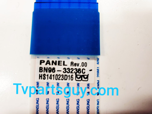 Samsung UN55F6300AF Main board to Tcon board LVDS ribbon cable BN96-33236C