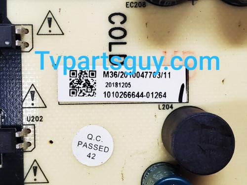 Hitachi 58C61 Power Supply board TV5006-ZC02-02 / E021M289-Q1 / 1010266644