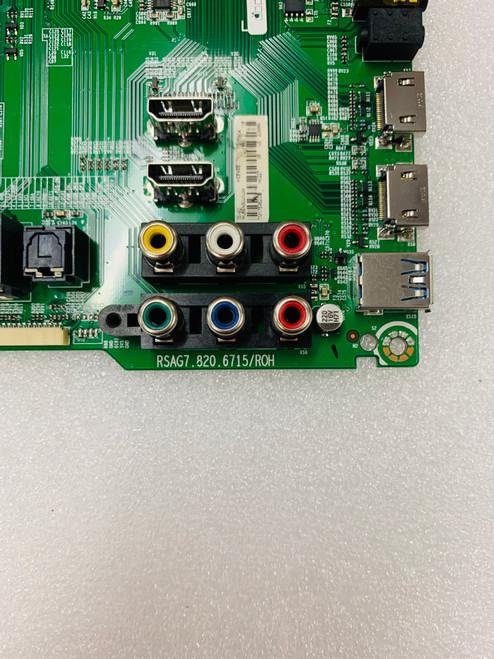 Hisense 50H6D Main board RSAG7.820.6715/R0H / 209989
