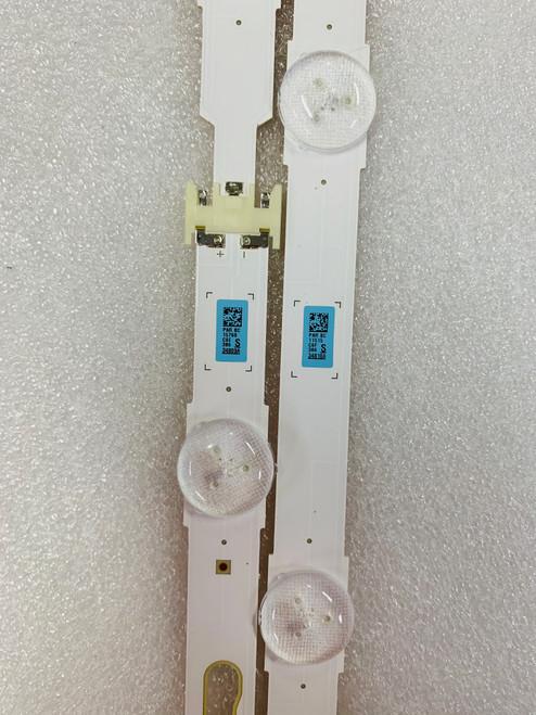 Samsung UN65JU6500F LED Light Strips Complete set of 16 BN96-34809A & BN96-34810A