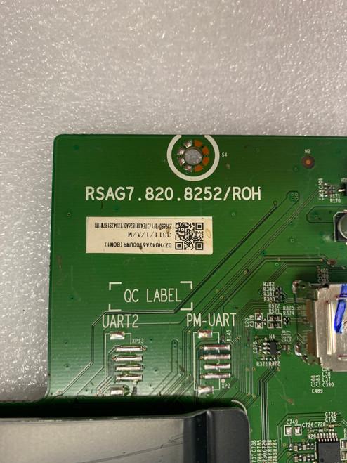 Hisense 43R6E Main board RSAG7.820.8252/R0H / 239650