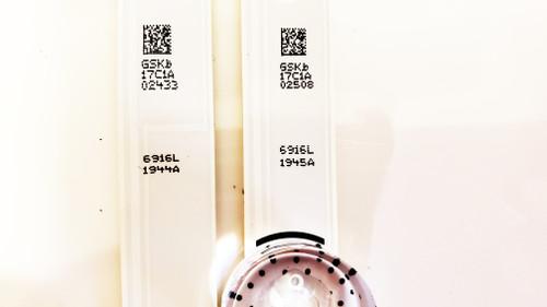 LG 49LB5550 LED Light Strips mini set of  4 6916L-1944A & 6916L-1945A