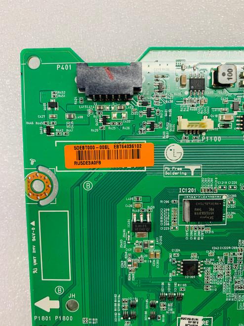 LG 43LX560H-UA.BUSYLJR Main board / Power Supply & Tcon board set EBT64036102 / EAY63709102 & 6871L-3966A