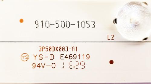 Element ELEFW5016 LED Light Strips Complete set of 10 3P50DX003-A1 / 910-500-1053