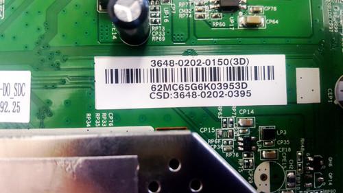 Vizio D48-D0 Power Supply board / Main board w/ WiFi Module & LED Light Strips set of 5 kit 0500-0605-0940 / 3648-0202-0150 / 0980-0140-1910 / IC-D-VZAA48D689