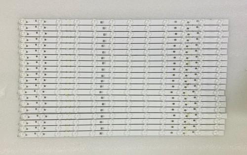 Vizio M65-F0 LED Light Strips Complete set of 20 LB65059