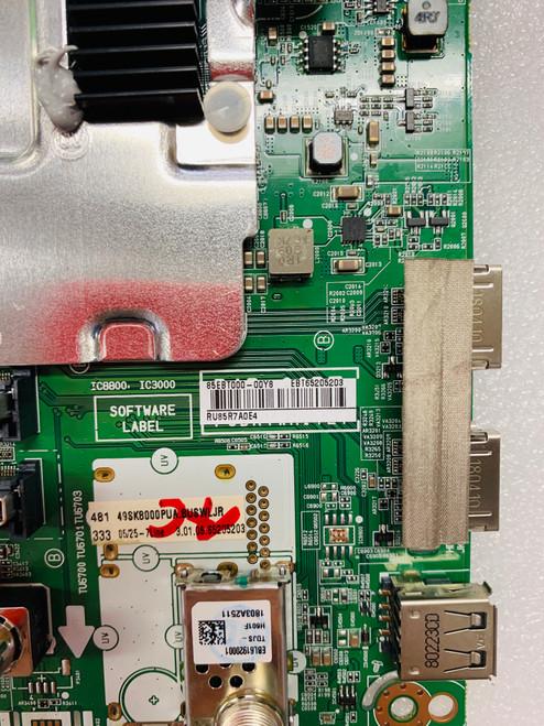 LG 49SK8000PUA Main board & Power Supply board kit EBT65205203 & EAY64808601