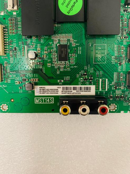 TCL 49S305 Main board 40-MST14S-MAD2HG / V8-ST14K01-LF1V7270