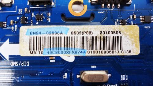 Samsung UN46C8000XFXZA Main board BN41-01365B / BN97-04067A / BN94-02696A