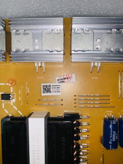 Philips 55PFL6921/F7  Power Supply board BA61R201021 / A61RAMPW