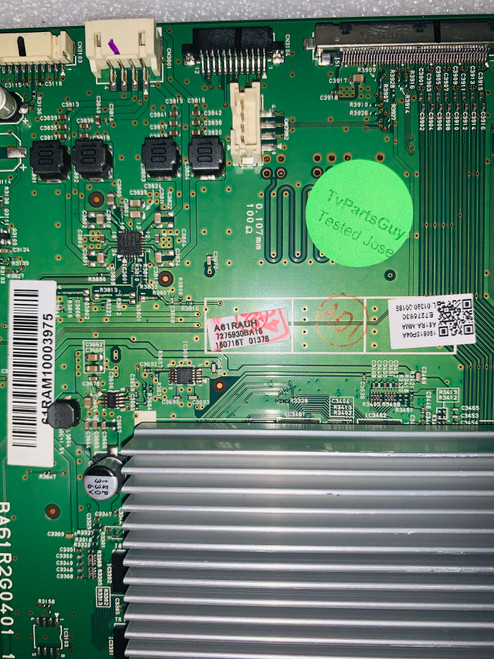 Philips 55PFL6921/F7 Main board BA61R2G04011 / A61RAUH