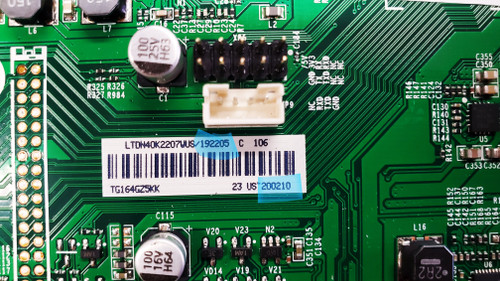 Hisense 40H4C1 Main board RSAG7.820.6670/ ROH / LTDN40K2207WUS / 192205 / 200210