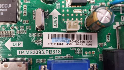 Vinova LEV3201 Main board TP.MS3393.PB818 / ST3151A04-8 / K16009246