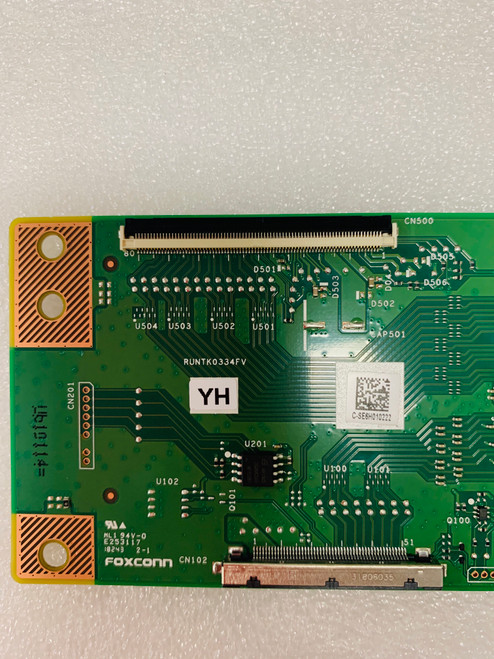 RCA RTU6050 Tcon board 1P-0171X00-40SB / RUNTK0334FVYH