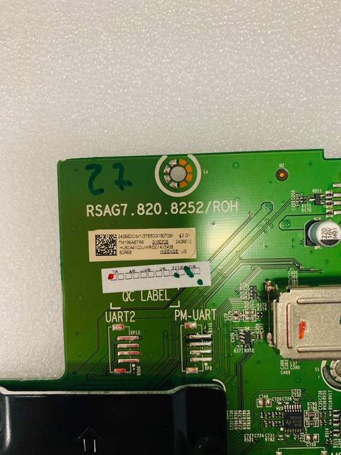 Hisense 50R6E Main board RSAG7.820.8252/ROH / 242660 / 242661