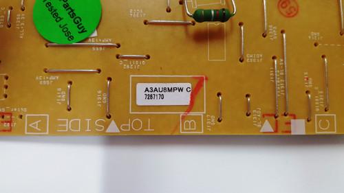 Emerson LF501EM6F Power Supply board BA3AUVF01021 / A3AU8MPW