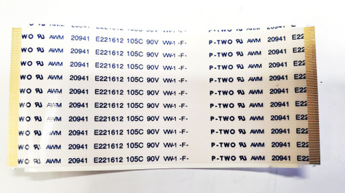 Vizio E60U-D3 Tcon board to Panel ribbon cables 20941