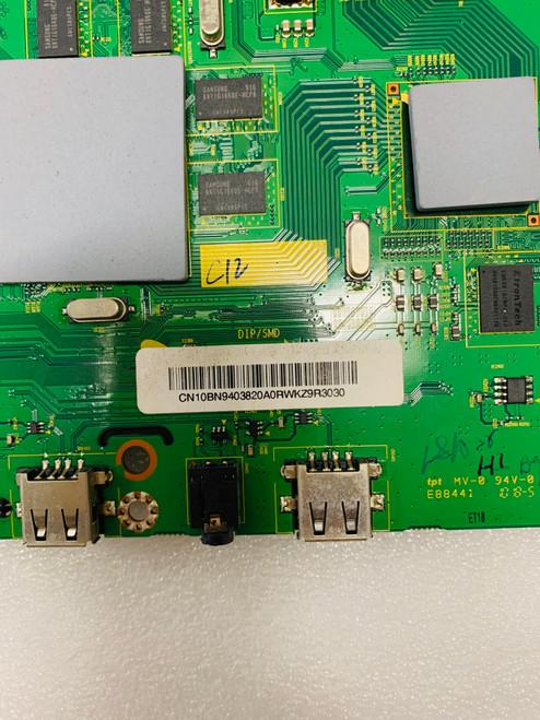 Samsung UN55C7000WF Main board BN41-01365B / BN94-03820A