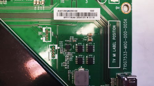 Vizio P55-C1 Main board 715G7533-M0G-000-005K / 756TXFCB0QK039
