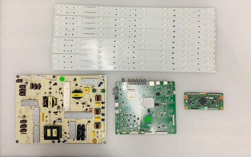 Vizio E60-C3 Main board / Power Supply board & Tcon board & LED Light Strips KIT 0160CAP08101 / 09-60CAP080-01 / RUNTK5489TP / E600DLB030-007 Serial# LFTRRZAR / LFTRRZAS