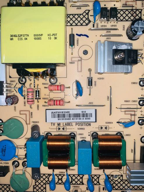 Vizio D50-F1 Power Supply board 715G9165-P01-001-003H / ADTVH1812AB3