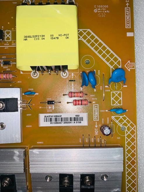 Vizio P65-C1 Power Supply board 715G6887-P01-007-002M / ADTVE1035AG7