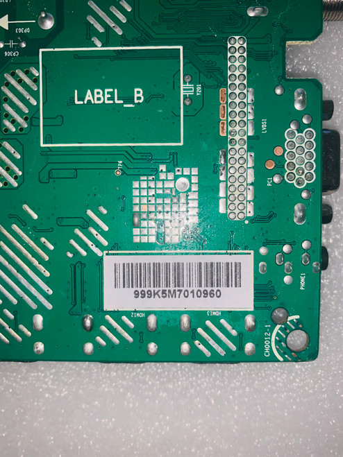Hitachi LE39A309 Main board JUC7.820.00134905 / 999K5M70