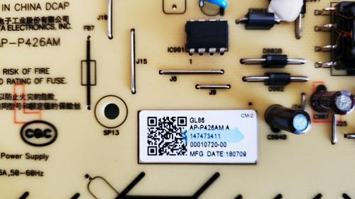 Sony KD-75X780F TV Repair kit 1-474-734-11, A2201034C, LJ94-41695D, 1-458-998-11, 1-981-977-13
